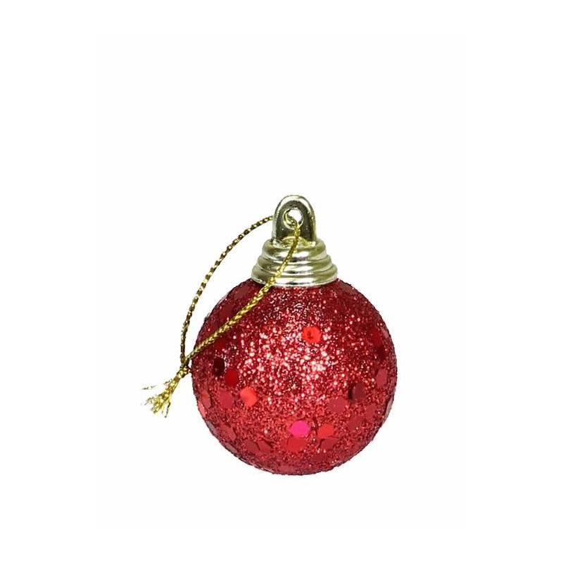 Blister 6 bolas de navidad peque as oasis decor for Bolas de navidad baratas
