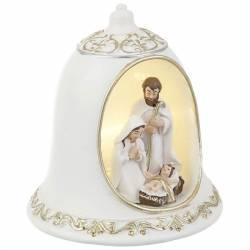 Nacimiento de Navidad campana con led
