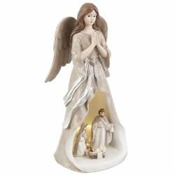 Nacimiento de Navidad angel con led