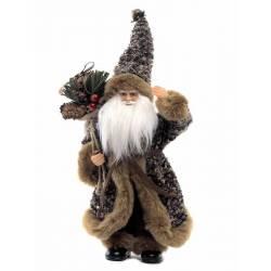 Muñeco Papa Noel con saco