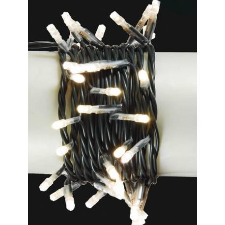 Guirnalda 50 luces led blancas superbrillo