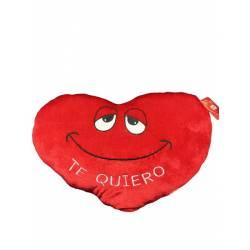 Almohada cojin corazon Te Quiero