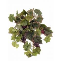 Planta colgante parra artificial con uvas