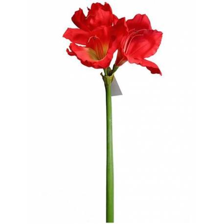 Amaryllis artificial 3 flors