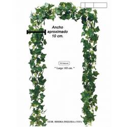 Guirnalda hiedra artificial verde 180
