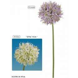 Flor artificial allium