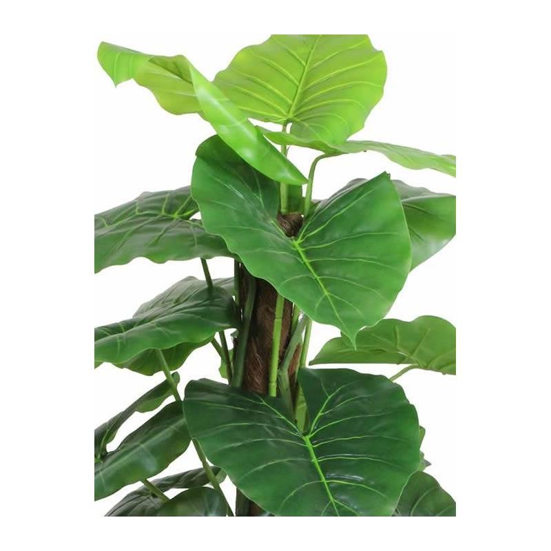 Planta caladium artificial con tutor oasis decor - Planta artificial ...