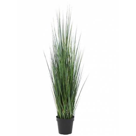 Maceta hierba juncos artificiales 120