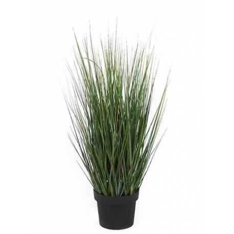 Maceta hierbas juncos artificiales 070