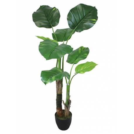 Planta pothos artificials fulles grans
