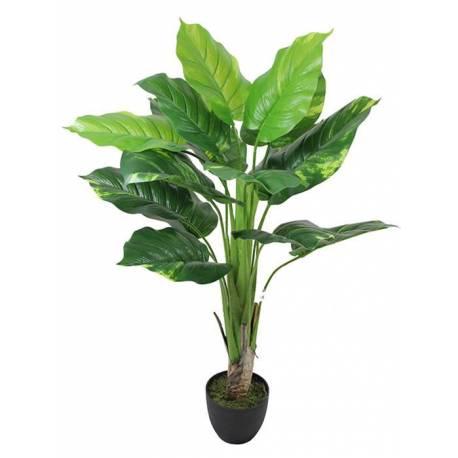Planta artificial pothos amb test