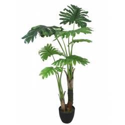 Planta artificial philodendro hojas grandes