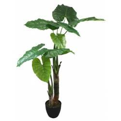 Planta artificial caladium hojas grandes