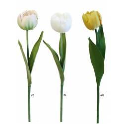 Flor artificial tulipan