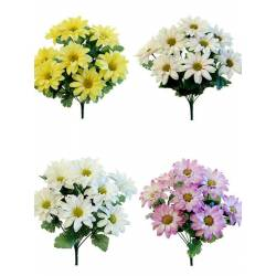 Ram flors artificials zinnias