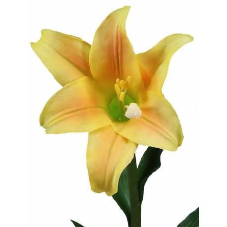 Flor azucena artificial latex