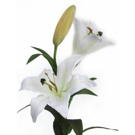 Flor lilium artificial amb 2 flors