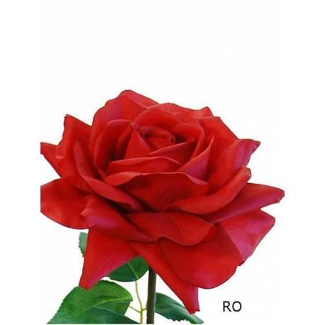Vara flor rosa artificial