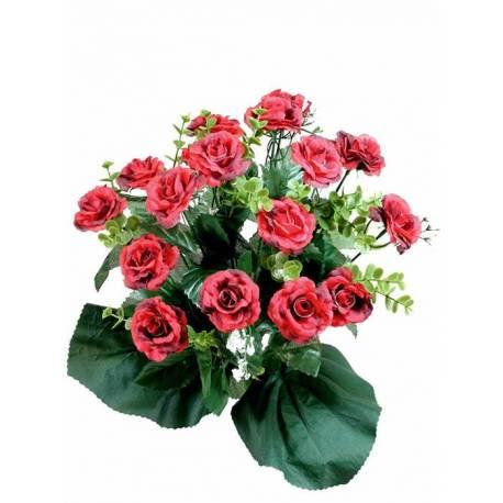 Ramo flores camelias artificiales