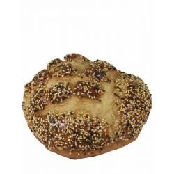 Pan artificial redondo con sesamo