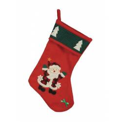 Bota decorativa Papa Noel