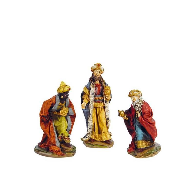 c2a2755d323 Nacimiento y reyes magos de resina Oasis Decor