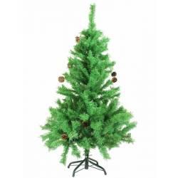 Arbol navidad artificial Baqueira con piñas