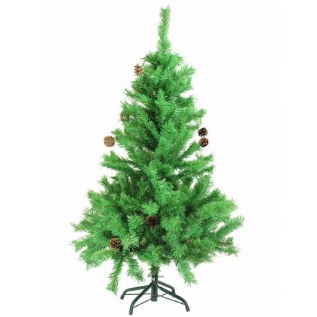 Arbre nadal artificial Baqueira amb pinyes