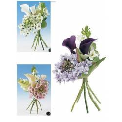 Pequeño bouquet calas artificiales