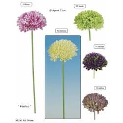 Flor artificial mum de plastico