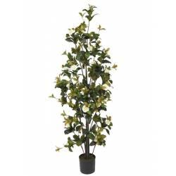 Planta gardenia artificial con flores 130