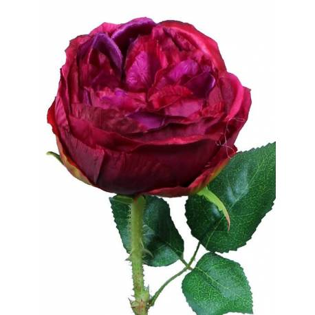 Flor rosa artificial Cabbage
