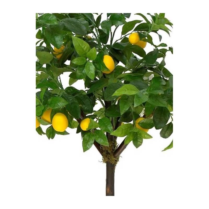 Arbol artificial arbol artificial cm vase colgable for Limonero sin limones