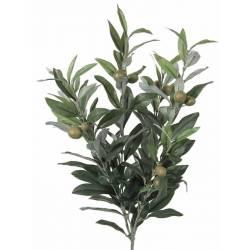 Xicoteta mata olivera artificial amb olives verds