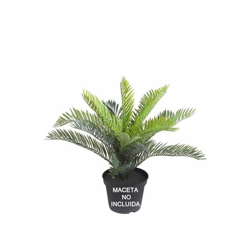 Peque a palmera cyca de plastico sin maceta oasis decor - Palmeras de plastico ...