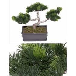 Bonsai artificial pino japones pequeño 023