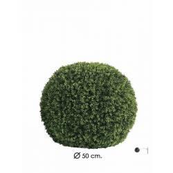 Bola grass de plastico grande