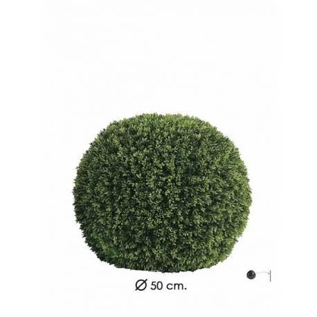 Bola grass de plastic