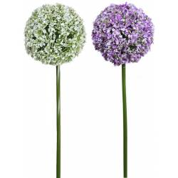 Flor artificial allium grande